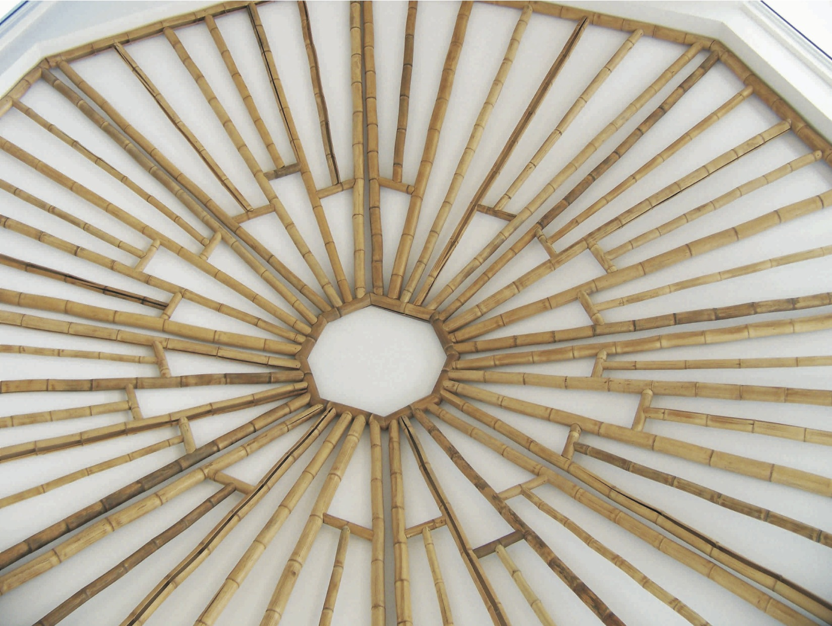 Decorative bamboo ceiling - Sailfish Point
