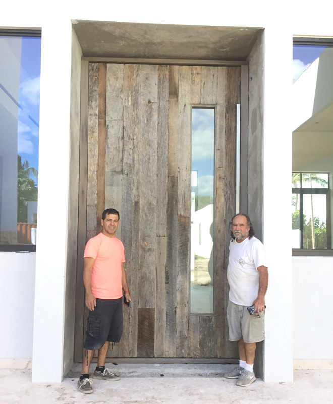 6'x11' entry door system - Nassau, Bahamas