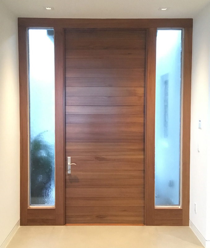 Teak entry system - Palm City