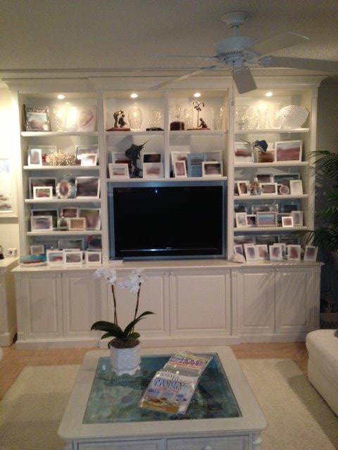 Painted TV/display/storage cabinet - Sailfish Point