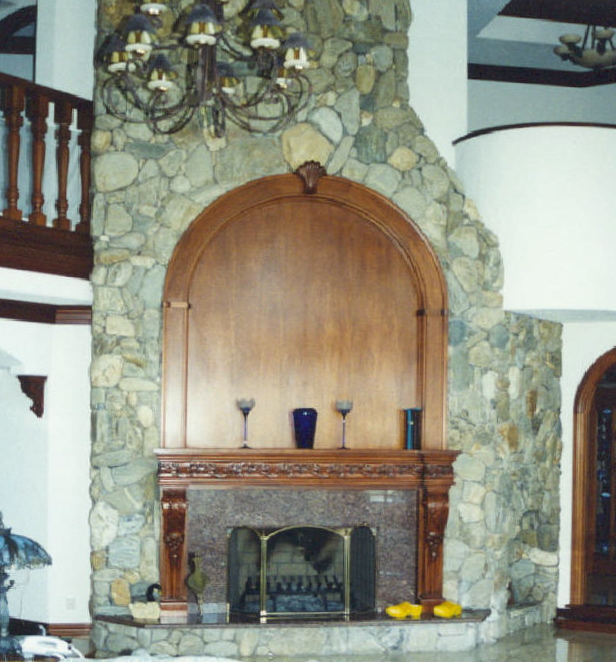 Fireplaces Jefferson Woodworking Llc Architectural