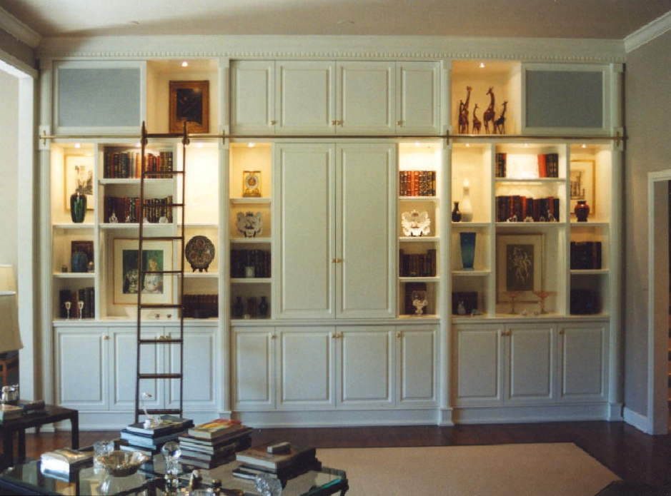 Entertainment Centers - Jefferson Woodworking, LLC - Architectural ...