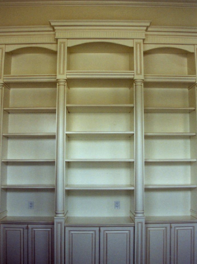 Painted/glazed display and storage cabinet - Sailfish Point